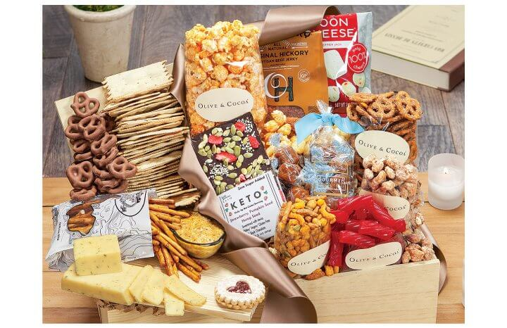 Food Gift Baskets are Versatile