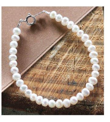 Keepsake Baby Pearl Bracelet