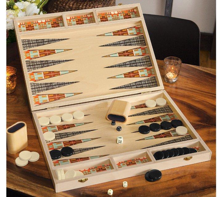 Herman Backgammon Set