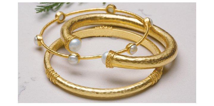 Julie Vos Stacking Bracelet Set