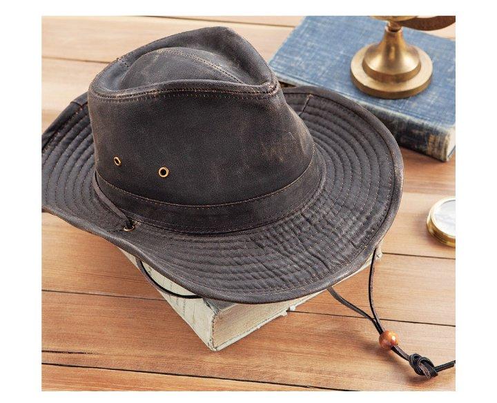 Sedona Waxed Canvas Hat