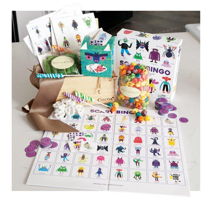 9   Monstrously Fun Bingo & Treats Crate
