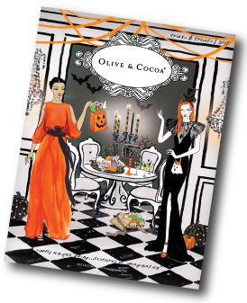 request a catalog from olive cocoa - Halloween Catalog Request