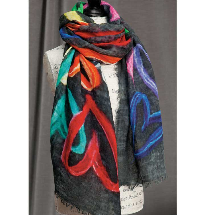 Pop Art Scarf