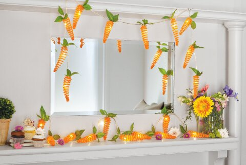 Carrot String Lights