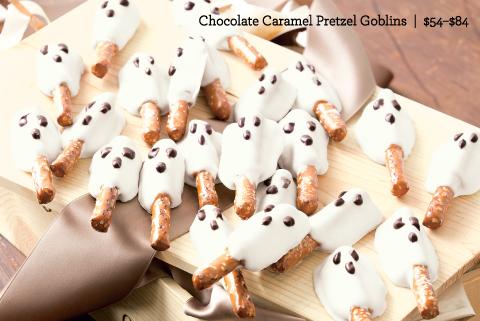 Chocolate Caramel Pretzel Goblins
