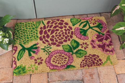 Desert Flowers Door Mat