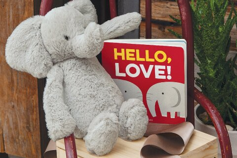 Hello Love Elephant & Storybook