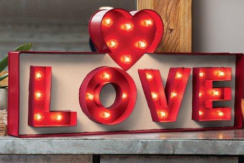 Love Lit Sign