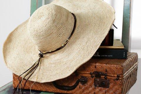 Lucinda Raffia Sun Hat