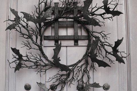 Twilight Bat Wreath