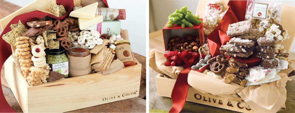 Unique Gifts Flowers And Gourmet Gift Baskets By Olive Cocoa