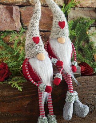 Heart Gnome Twins