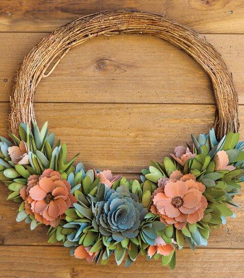 Artisan Spring Wreath