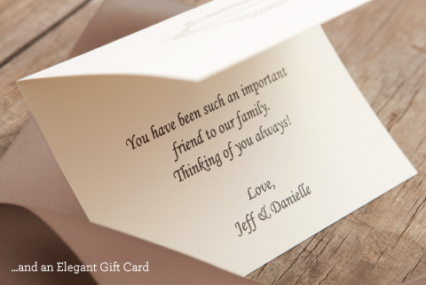 And an Elegant Gift Card