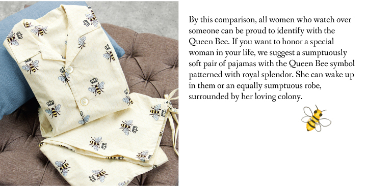 Queen Bee Cotton Pajamas