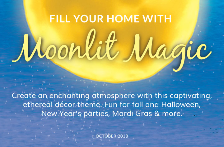 Moonlit Magic Decor: Olive & Cocoa