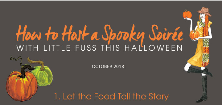 How to Host a Spooky Soiree With Little Fuss This Halloween