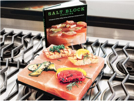 Salt Block Cooking Set