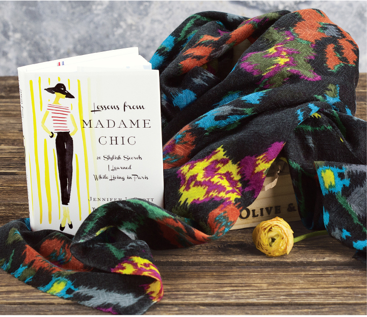 Parisian Chic Book & Scarf