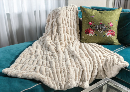 Matterhorn Faux Fur Throw