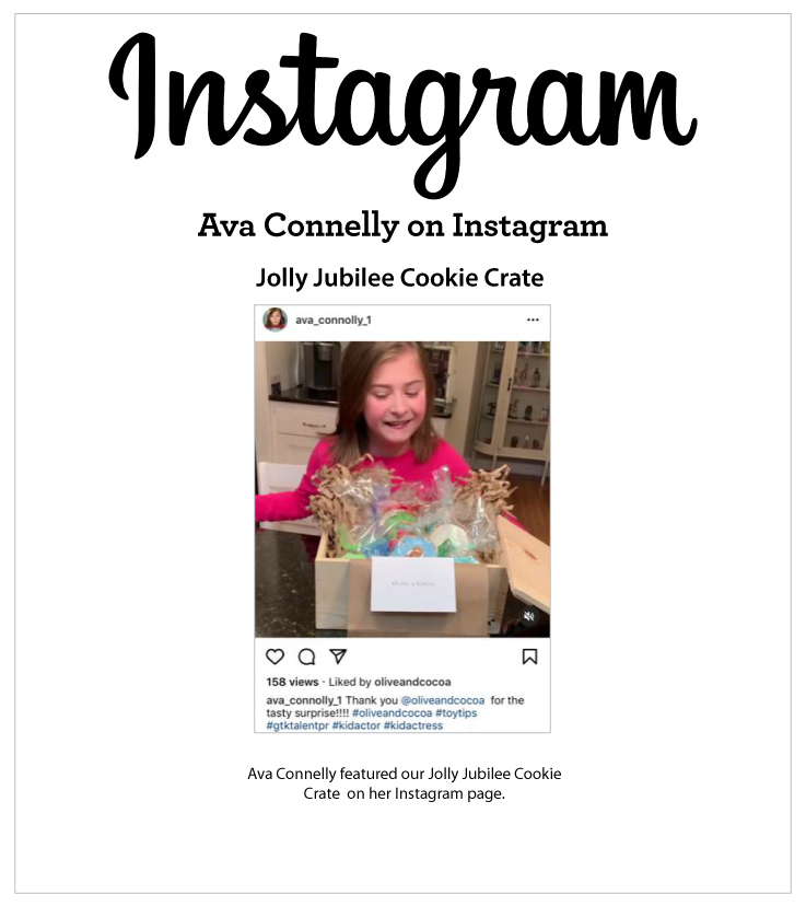 As Seen In Ava Connelly on Instagram 12.25.2021