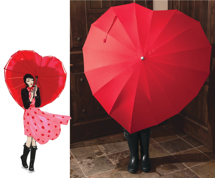 Cover My Heart Umbrella