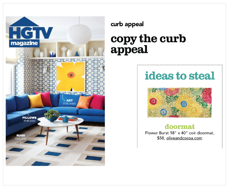 As Seen In HGTV Magazine 20180501