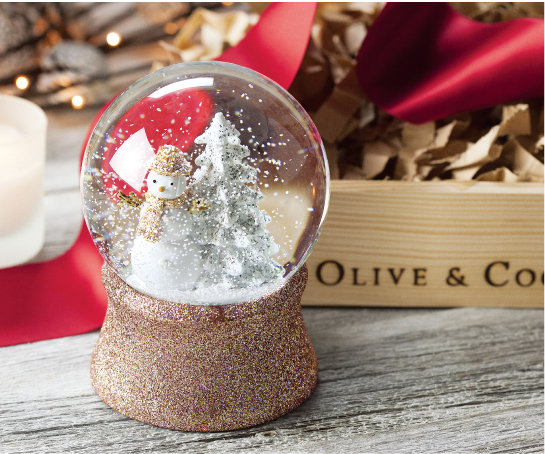Glittered Wintertide Snow Globe