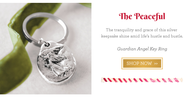 Guardian Angel Key Ring