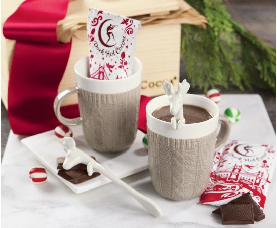 Cozy Reindeer Cocoa Set