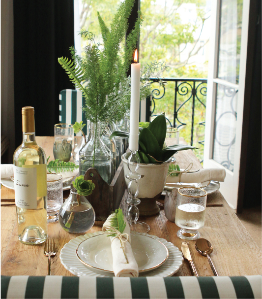 How to Set a Botanical Tablescape