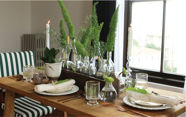 Create a Low Key Centerpiece