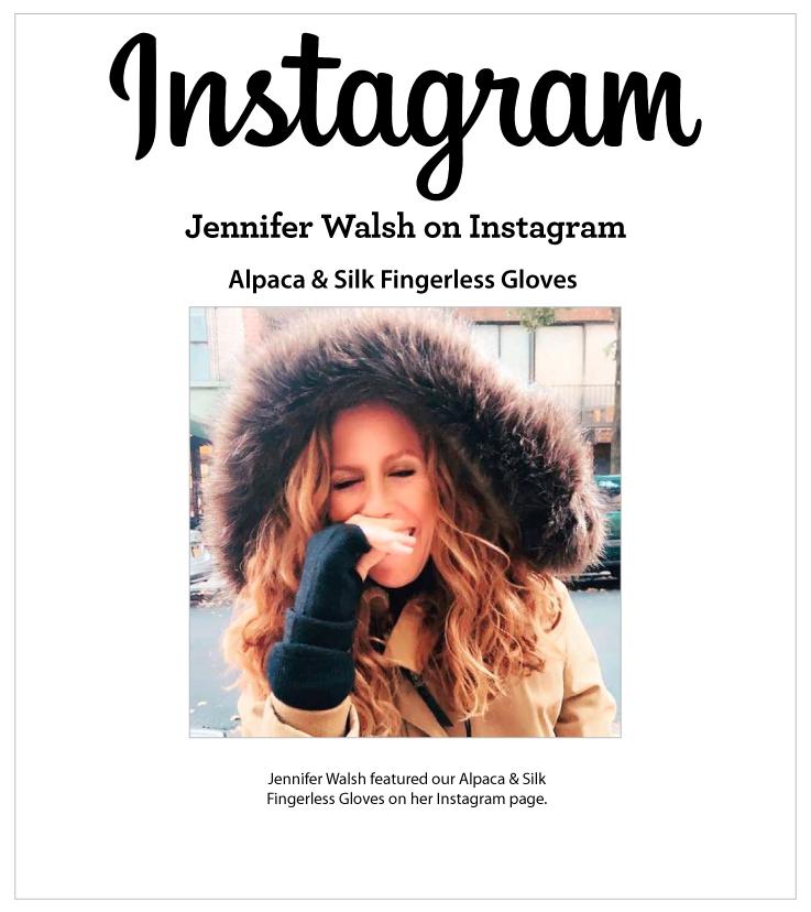 As Seen In Jennifer Walsh on Instagram