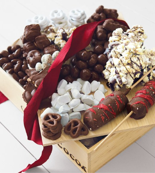 Lots of Little Holiday Chocolates