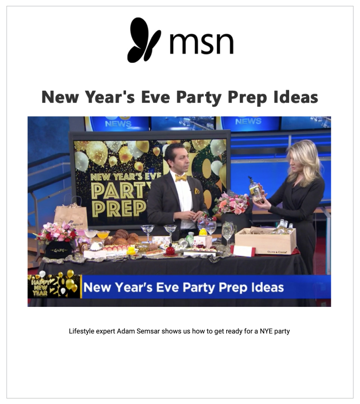 Our Moscow Mule Crate was featured in MSN.com's NYE Mocktails article.