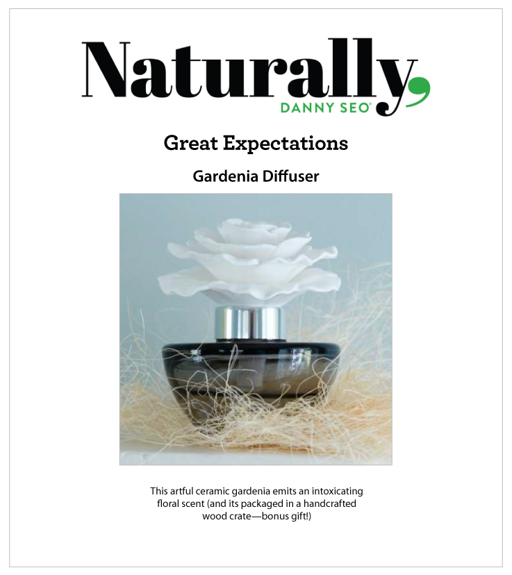 As Seen In Naturally, Danny Seo Magazine