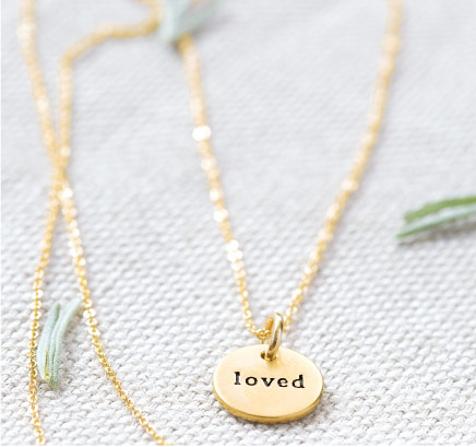 Loved Circle Necklace