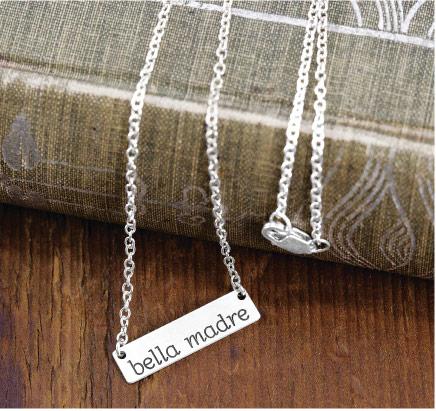 Bella Madre Silver Necklace