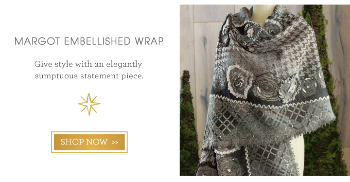Margot Embellished Wrap