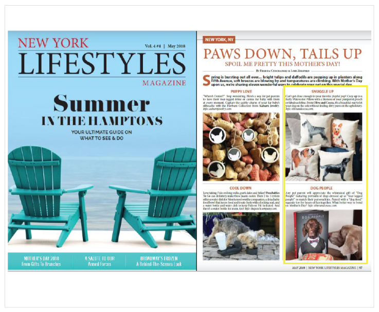 As Seen In New York Lifestyles Magazine 20180501