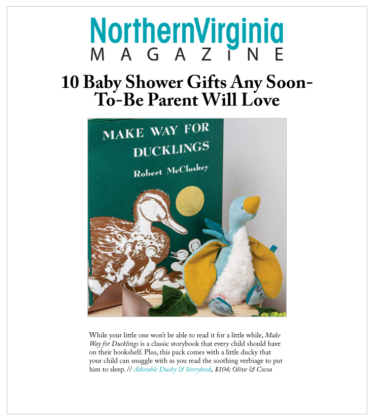 Our Adorable Ducky & Storybook in Northern Virginia Magazine