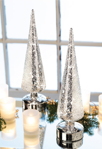 Silver Lighted Trees