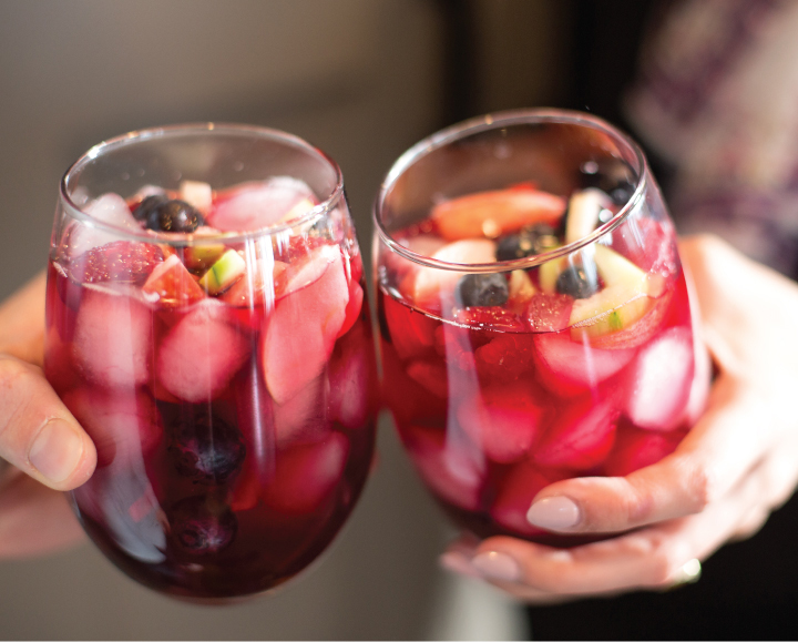 Snappy Spring Berry Punch