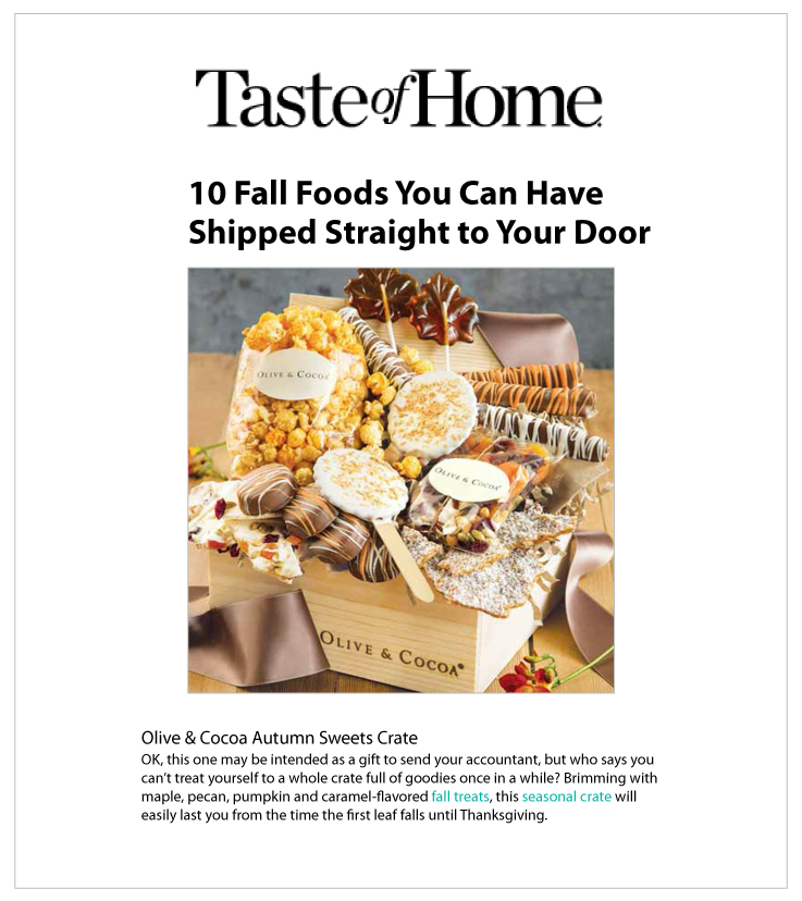 As Seen In Taste of Home 09.08.2020
