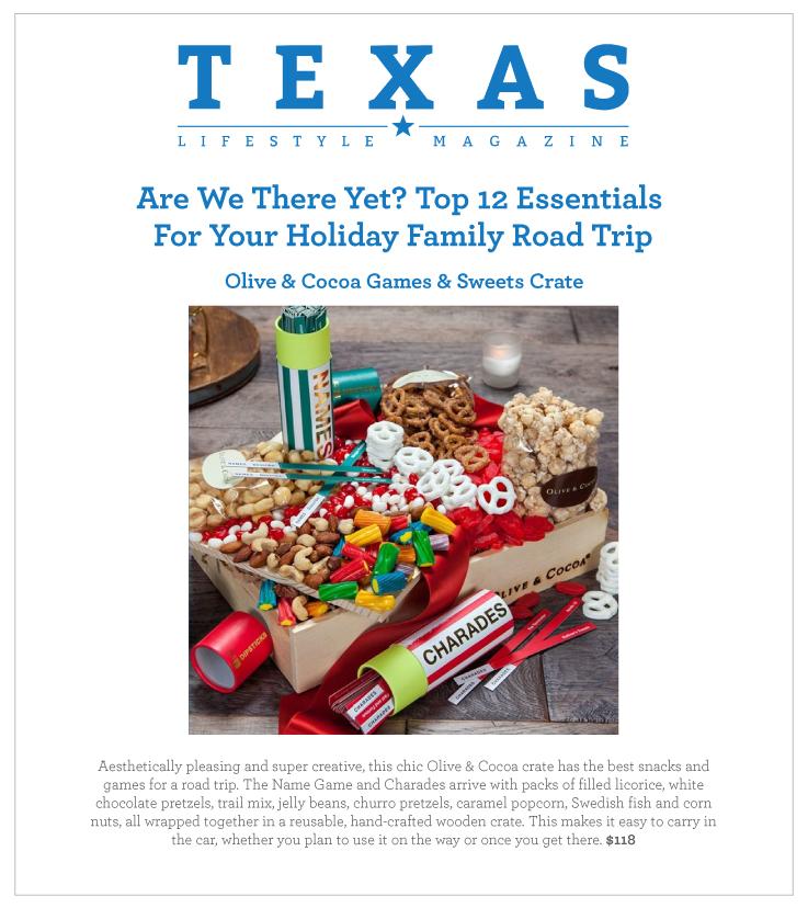 As Seen In Texas Lifestyle Magazine 11.06.2020