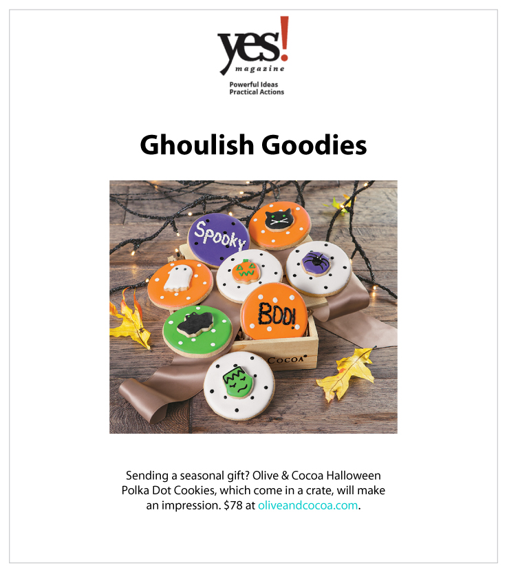 As Seen In YES Magazine 10.21.2020