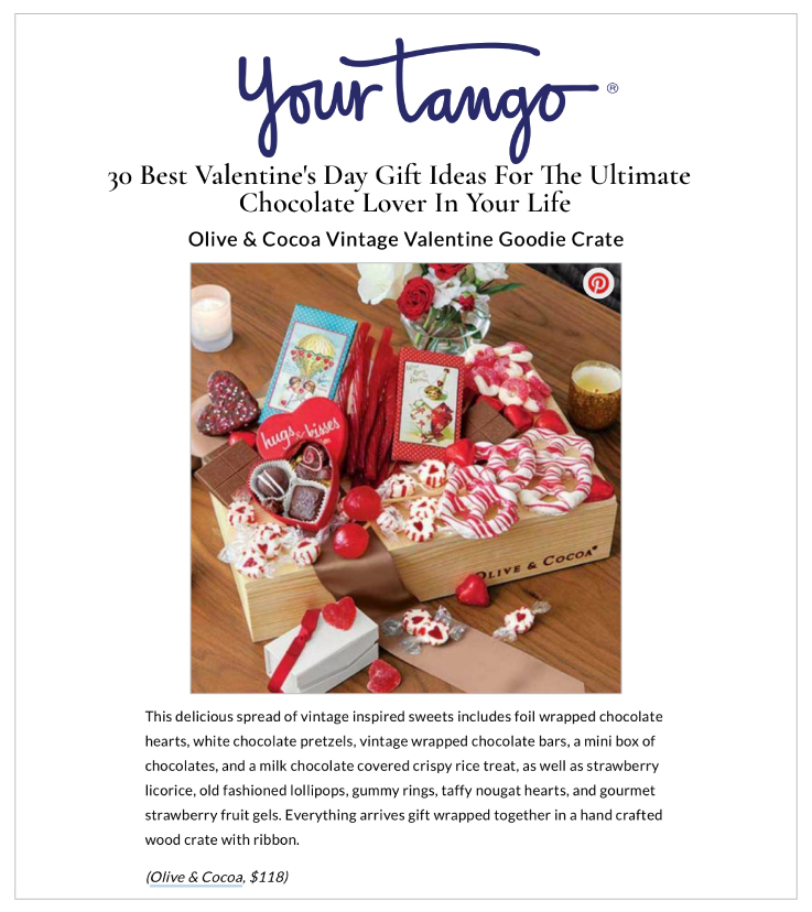 Our Vintage Valentine Goodie Crate on YourTango.com