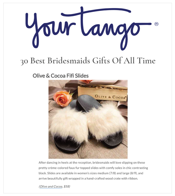 As Seen In YourTango: Olive & Cocoa