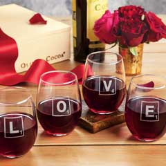Love Letters Glasses